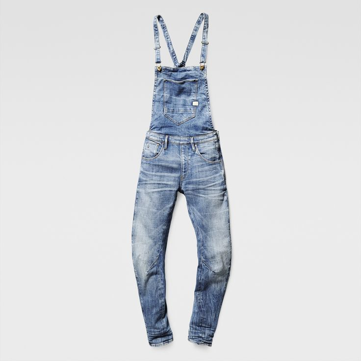 G-Star RAW | Women | Jumpsuits & Overalls | Arc 3d Boyfriend Overall , Light Aged