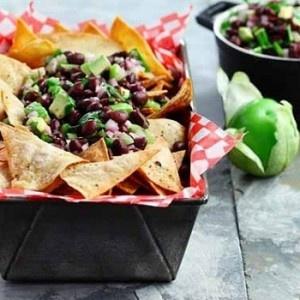 Black Bean Avocado Salsa | Snacks n Appies n Dips, Oh My! | Pinterest