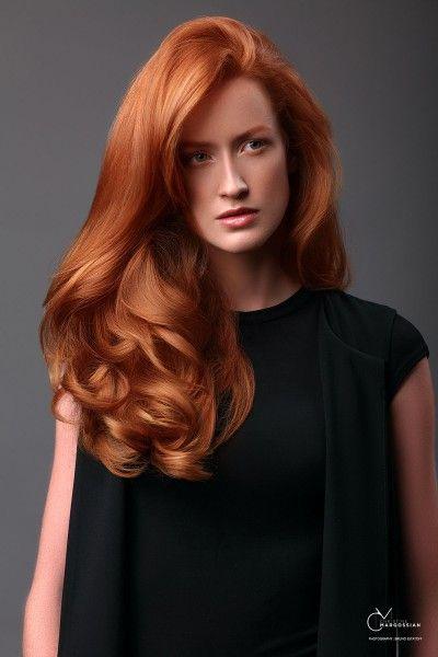 Les cheveux roux par Christine Margossian | Biblond, pour les coiffeurs !