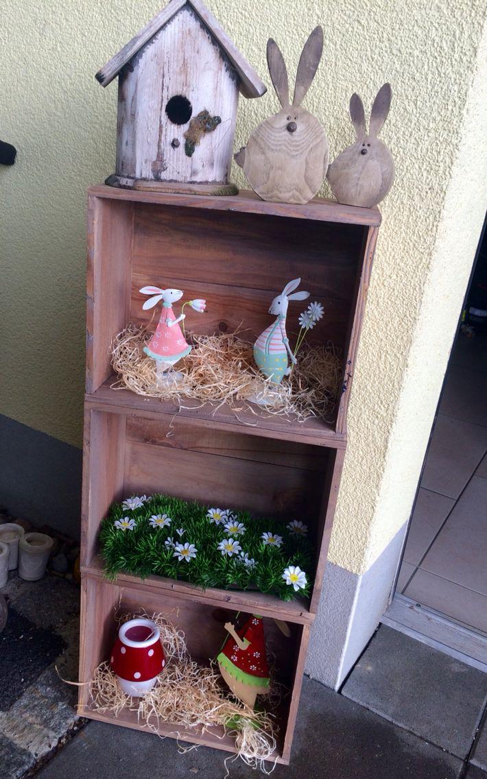 Pâques- caisses à vin