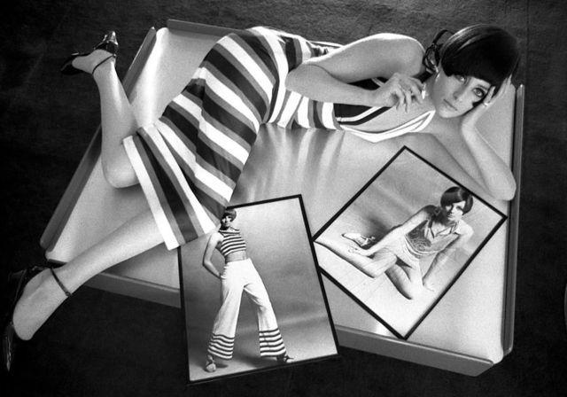 Jill Kennington by Brian Duffy, 1968.