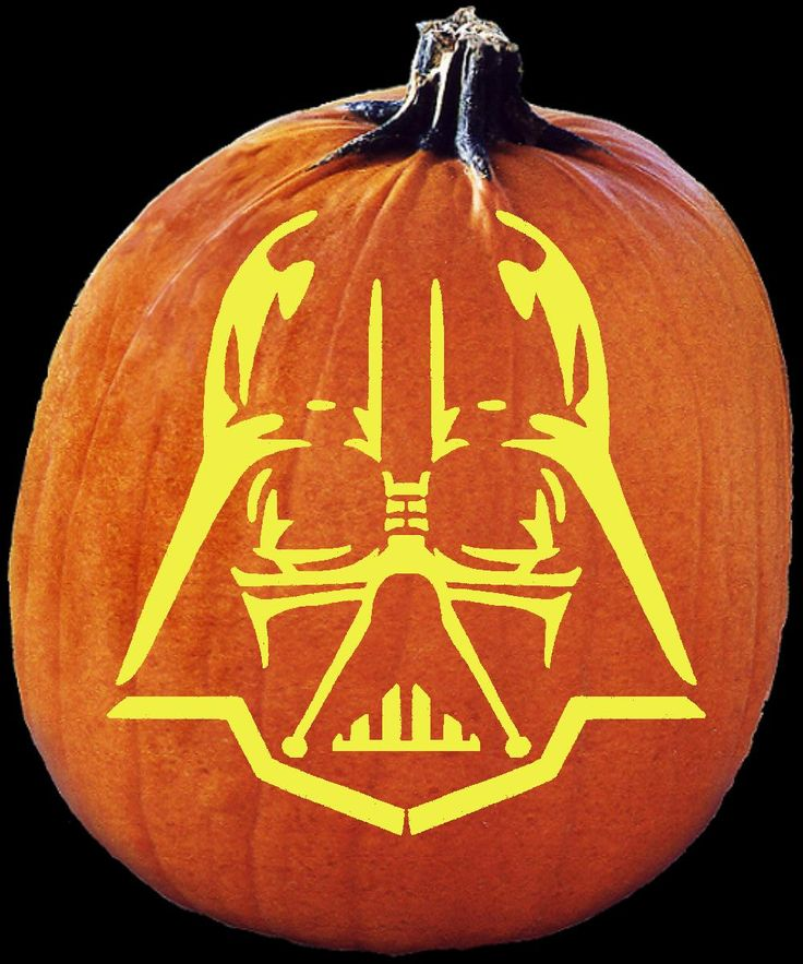 top pumpkin carving patterns | Star Wars Pumpkin Stencils