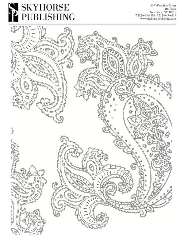 Download And Print This Free Adult Coloring Page