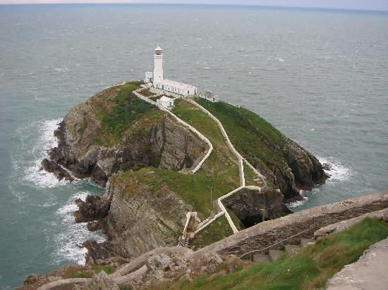SouthStack Lighthouse,Holyhead,Wales  One of my fav vacations