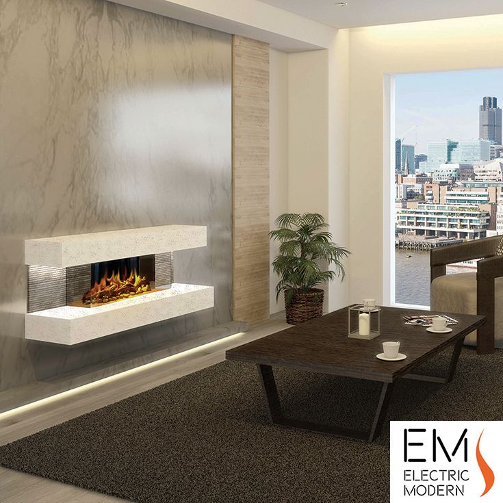 Compton 2 Electric Fireplace Suite Black With Images