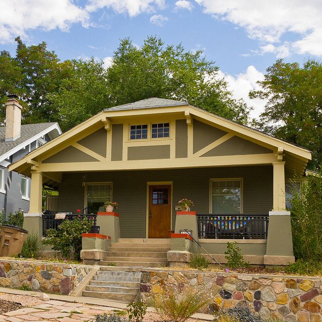 350 best elevations exteriors images on pinterest Craftsman roofing