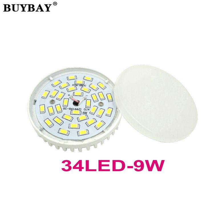 $4.46 (Buy here: https://alitems.com/g/1e8d114494ebda23ff8b16525dc3e8/?i=5&ulp=https%3A%2F%2Fwww.aliexpress.com%2Fitem%2FHot-selling-GX53-LED-lamp-9W-downlight-ultra-bright-GX53-led-bulb-SMD5730-34LED-spotlight-ball%2F32774957574.html ) Hot selling GX53 LED lamp 9W downlight ultra bright GX53 led bulb SMD5730 34LED spotlight ball bulb 90-260V high quality for just $4.46
