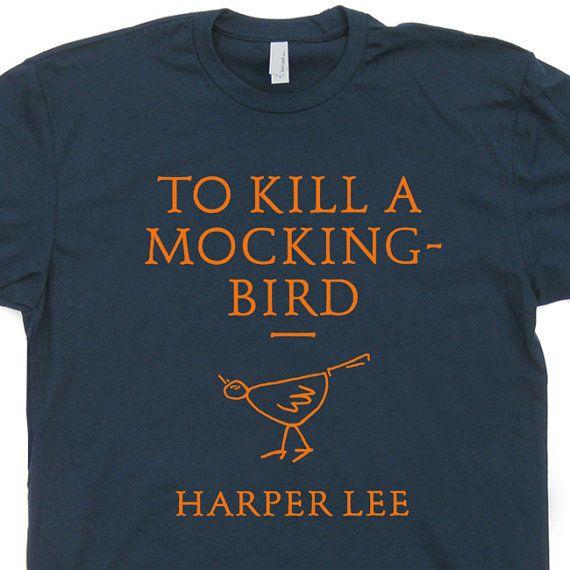 To Kill a Mockingbird T Shirt Lawyer T Shirt Book by Shirtmandude