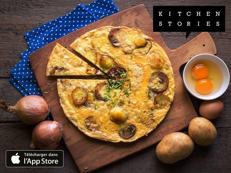 Je cuisine Tortilla espagnole avec Kitchen Stories. C'est vraiment délicieux ! Obtiens la recette maintenant: http://getks.io/fr/7598