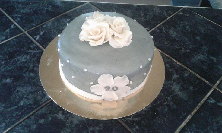 Házassági évfordulós torta