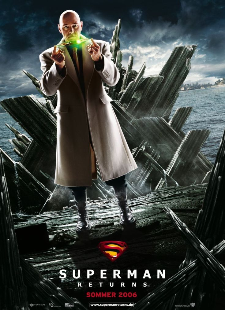 Superman Returns , starring Brandon Routh, Kevin Spacey, Kate Bosworth, James Marsden. After a long visit to the lost remains of the planet Krypton, the Man of Steel returns to Earth to become the people's savior once again and reclaim the love of Lois Lane. #Action #Adventure #Fantasy #Sci-Fi