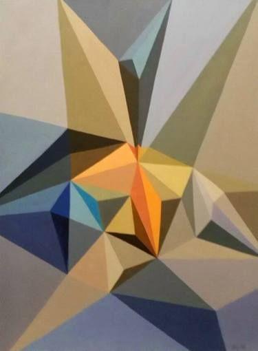 """Saatchi Art Artist Malvina - Carola Liuba; Painting, """"Scarred Letters 6"""" #art"""