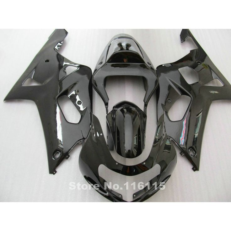(297.00$)  Watch here - http://ais8k.worlditems.win/all/product.php?id=32597458052 - ABS motorcycle fairing kit fit for SUZUKI GSXR600 GSXR750 K1 2001-2003 all glossy black fairings GSXR 600 750 01 02 03 QB18