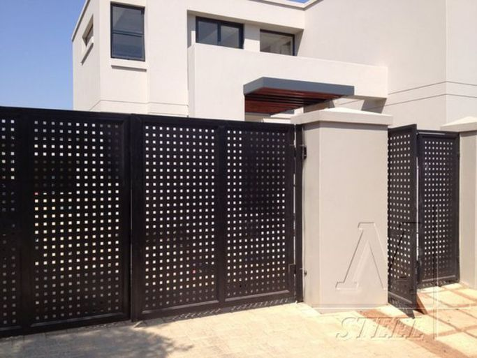 Gorgeous Modern Fence Design Ideas Match For Any House 07 Modern Fence Design House Wall Design Fence Design