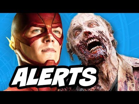 The Flash Spinoff Vixen and Emergency Awesome Alerts - YouTube