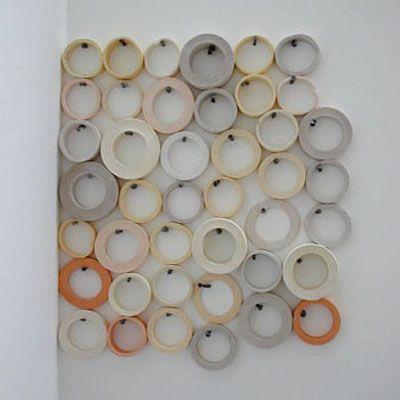 Des Hughes/Masking Tape and Nails, 2003 via nezart design