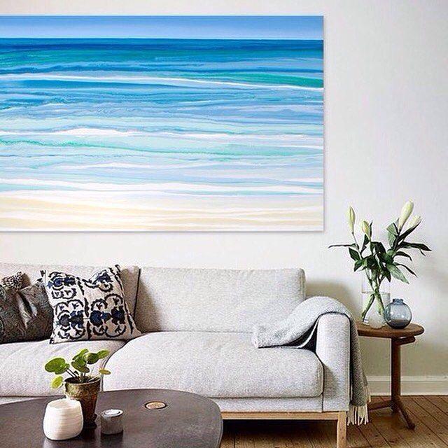 Original painting  #contemporaryroom #abstractart #abstractpainting #interiordesign #livingroom #architecture #abstractartist #goldcoastartist #goldcoast #contemporayart #moderninteriordesign #loveart #beach #beachart #seascape #waterpainting