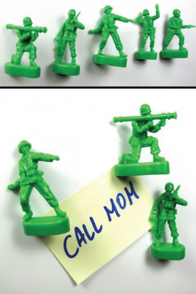Green Army Men Push Pins. School supplies. Off to college gift ideas for boys. (Graduation gifts for high school guys)