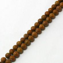 """15 """" / bricolaje piedra de grano de textura de madera de la ágata de los granos redondos naturales ( teñido ) para la pulsera y el Jeweley BTB614(China (Mainland))"""