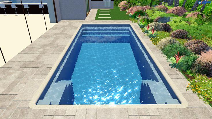 Madeira By Narellan Pools: Narellan Pools Grandeur - NEW RELEASE