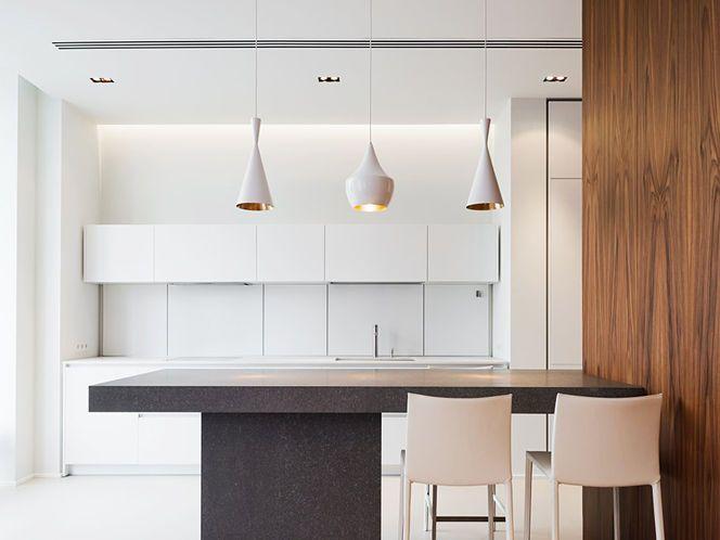 Cozinha do apartamento 'New Arbat'