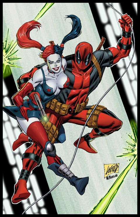 Deadpool & Harley Quinn Fan Art Will Make You Ship It Too! | moviepilot.com