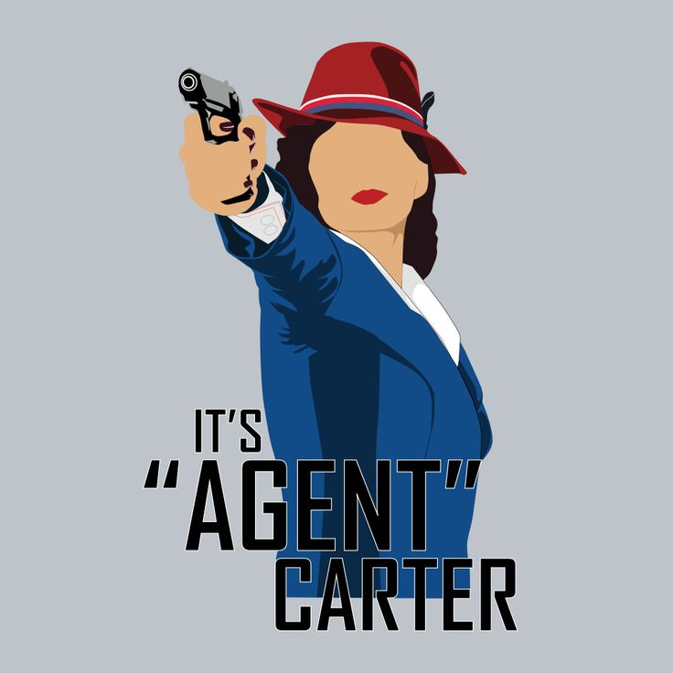 "It's ""Agent"" Carter"