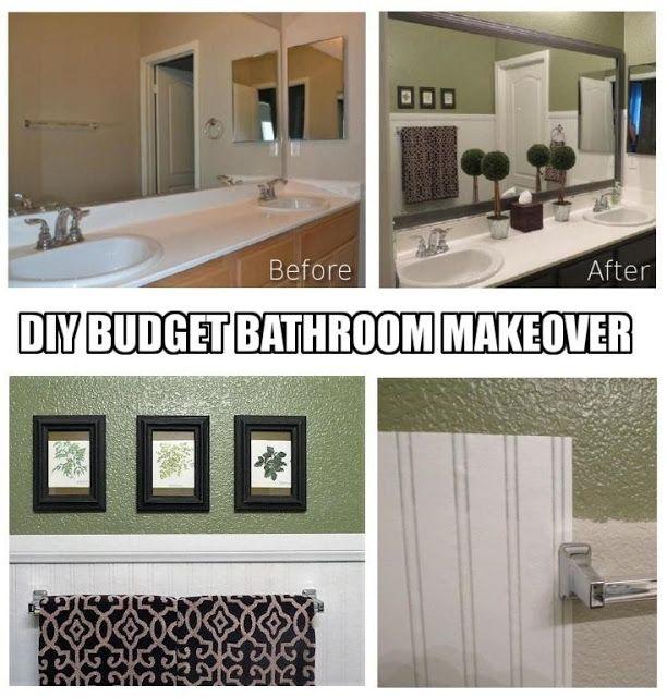 124 Best Diy Bathroom Remodel Decor Ideas On A Budget Images On Pinterest