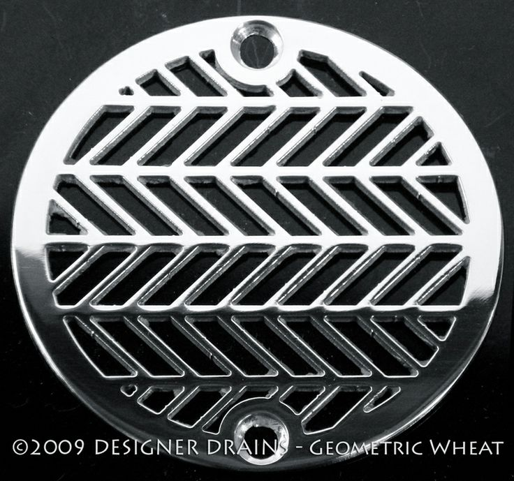 Designer Drains - Geometric Wheat