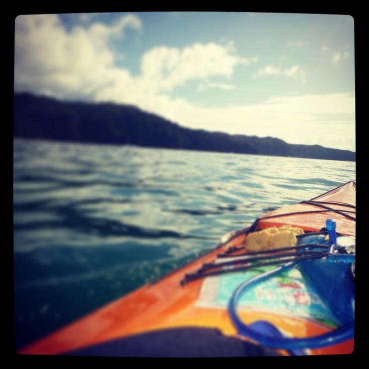 Kayaking Abel Tasman, NZ, Easter 2013