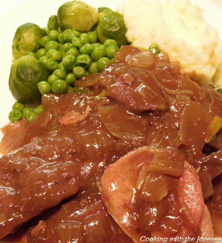17 best images about lamb on pinterest liver and bacon for Best gravy for lamb