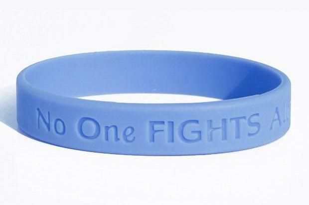 Esophageal Cancer Wristband (Periwinkle)