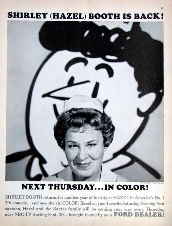 Hazel. Shirley Booth.