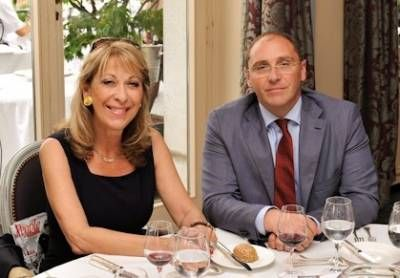 La princesse Margherita Imperiali di Francavilla et Alain Aubry