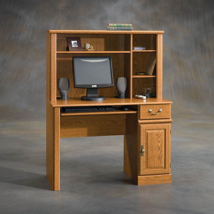 Small Computer Desk with Hutch - Design Desk Ideas Check more at http://www.gameintown.com/small-computer-desk-with-hutch/