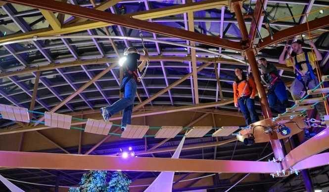 Sky Tykes Ropes Course At Destiny Usa Syracuse Mall
