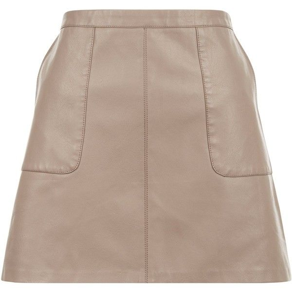 Best 25  Leather a line skirt ideas only on Pinterest   Black ...
