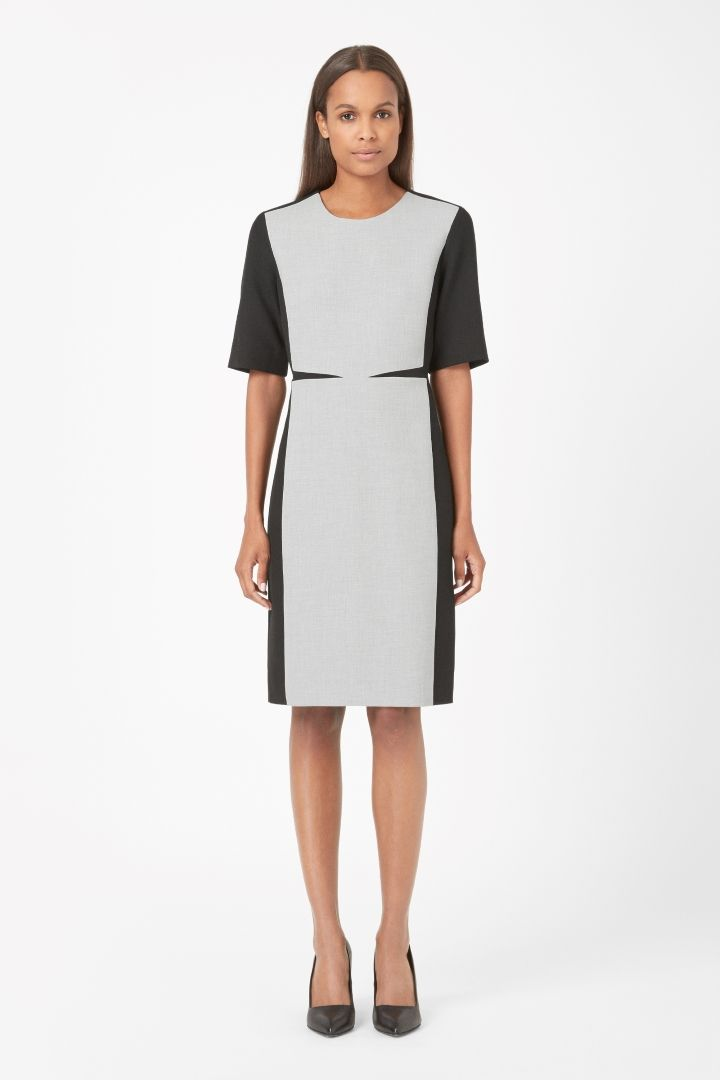 COS | Panelled dress