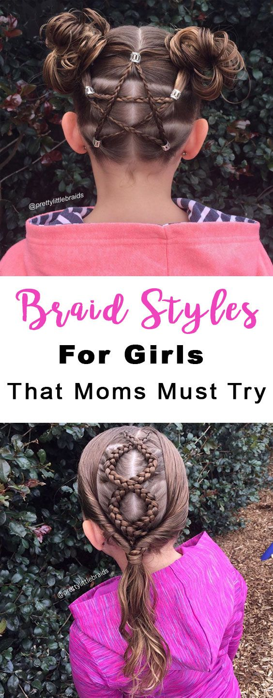 awesome Versatile braid styles for girls that moms must try on their daughters - Stylendesigns.com!