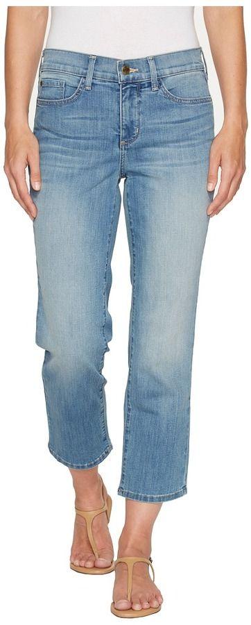 NYDJ Marilyn Relaxed Capris in Pampelonne Women's Jeans