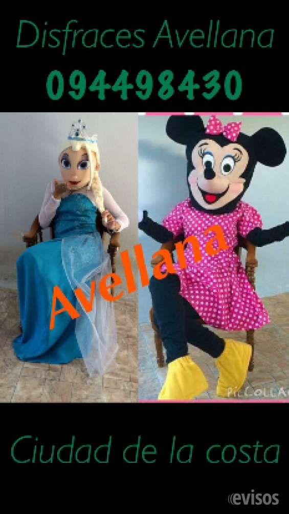 Frozen, Mono Jorge, Sherif Callie 094498430  Disfraces alquiler y venta de toda clase de disf ..  http://ciudad-de-la-costa.evisos.com.uy/frozen-mono-jorge-sherif-callie-094498430-id-301463