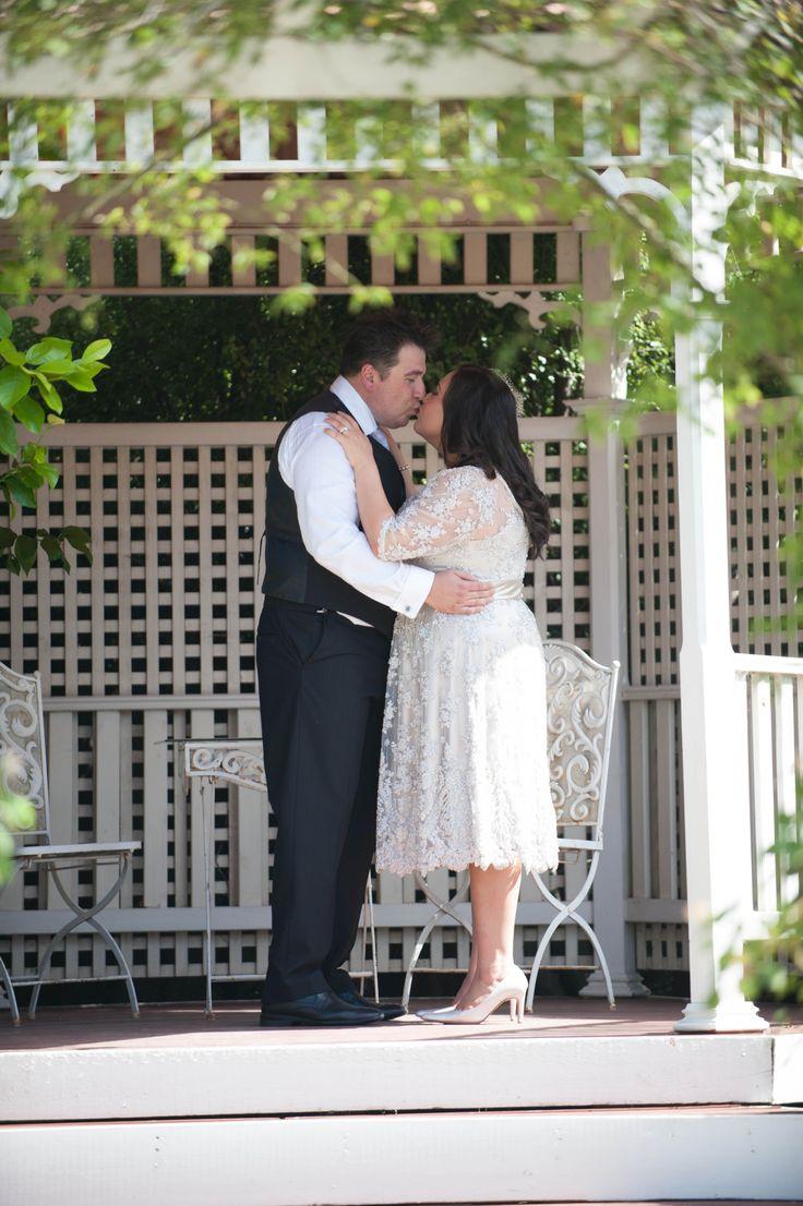 A bride & groom moment