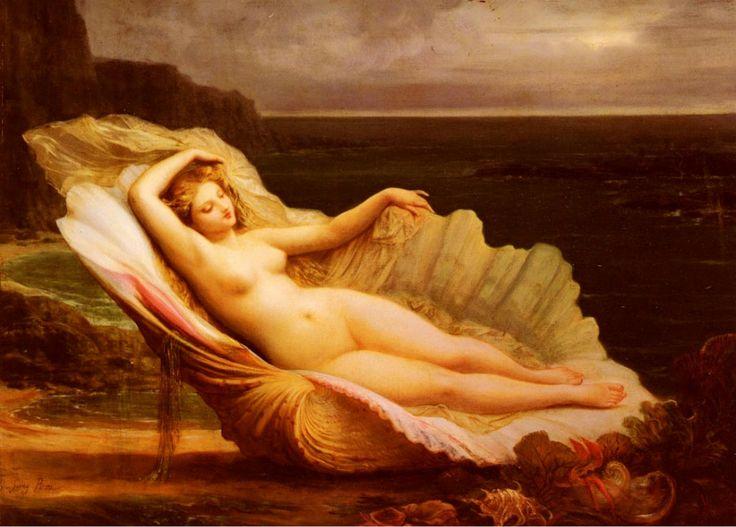 Henri Pierre Picou (1824-1895) Venus: