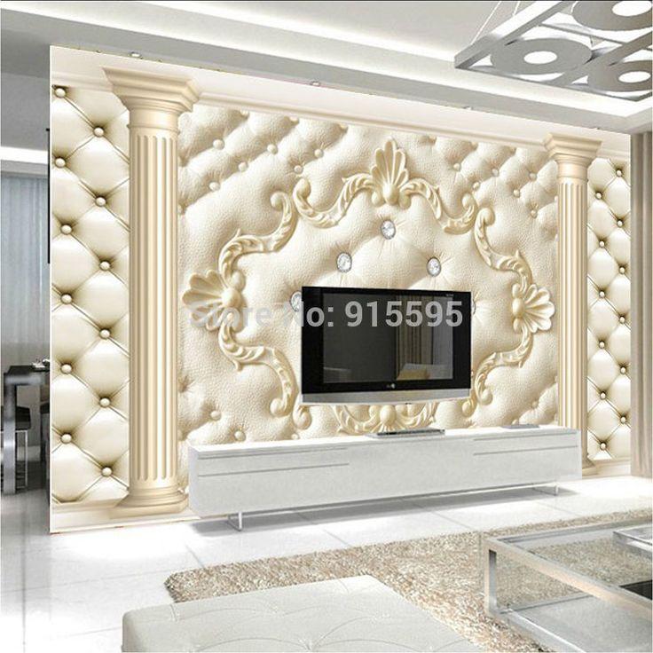3D Wallpaper Bedroom Mural Roll Modern Luxury Embossed Background  #Unbranded #Modern