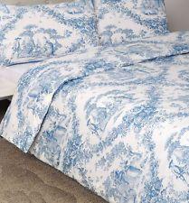 Best TOILE DE JOUY Bluewhite Images On Pinterest Canvas - Blue and white toile duvet cover
