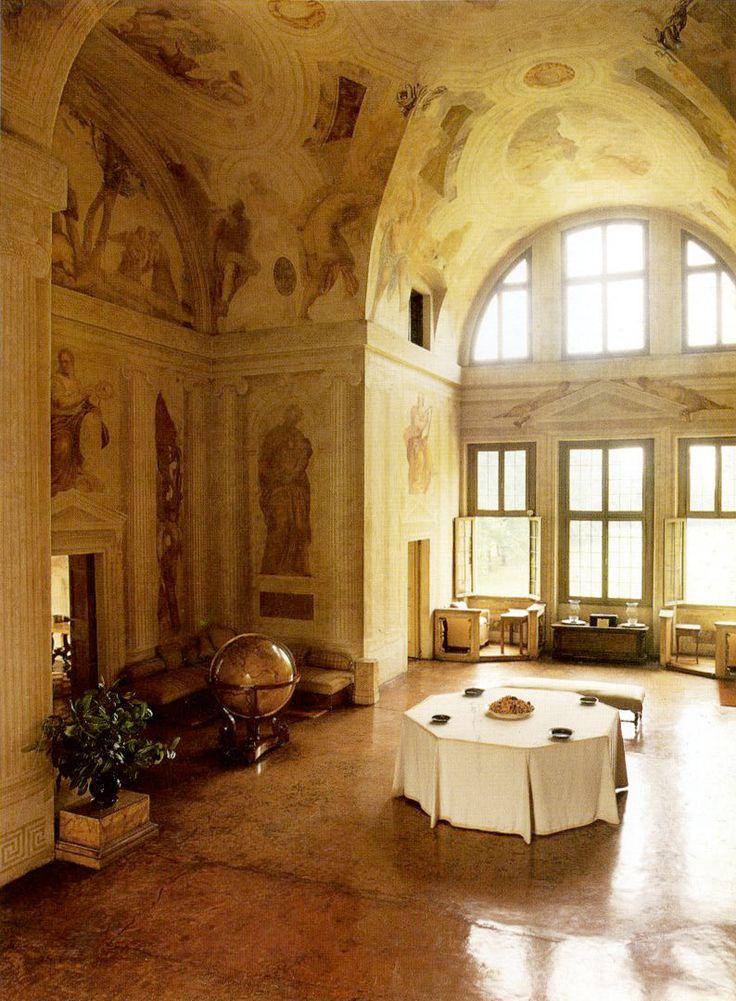 """Villa Foscari """"La Malcontenta""""   Andrea Palladio. Mira, Italy 1560"""