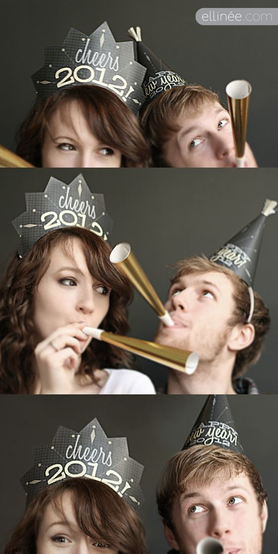 2012 NYE Party Hat Printables