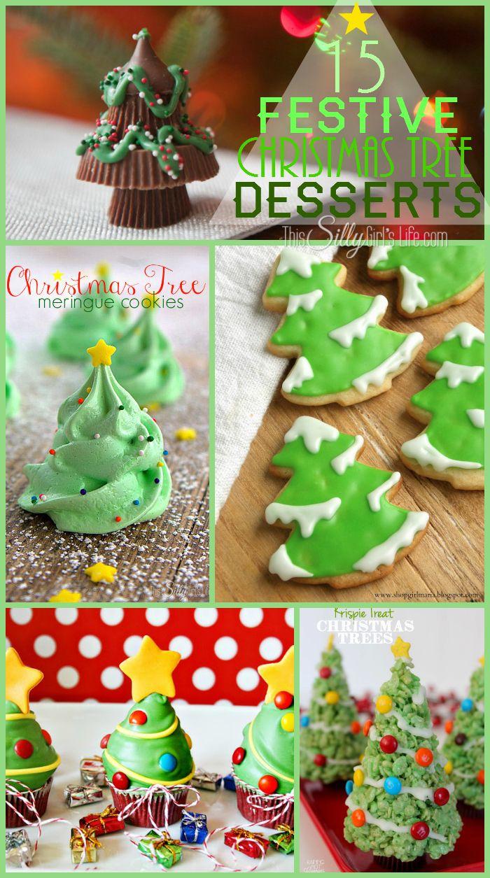 collection des plus mignons desserts Arbre de Noël pour faire cette saison de vacances!