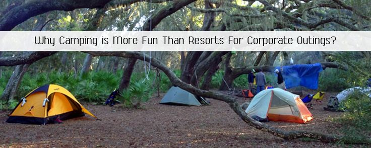 Find out how corporate camping tours are way better than resort outings.