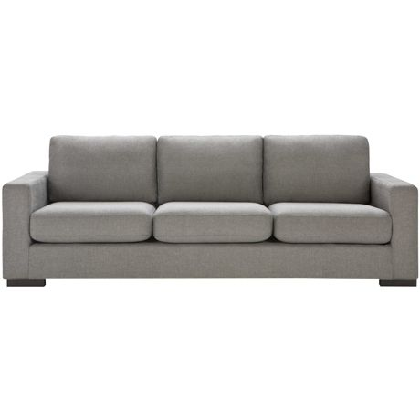 Signature 3 Seat Sofa Attache Black Pepper